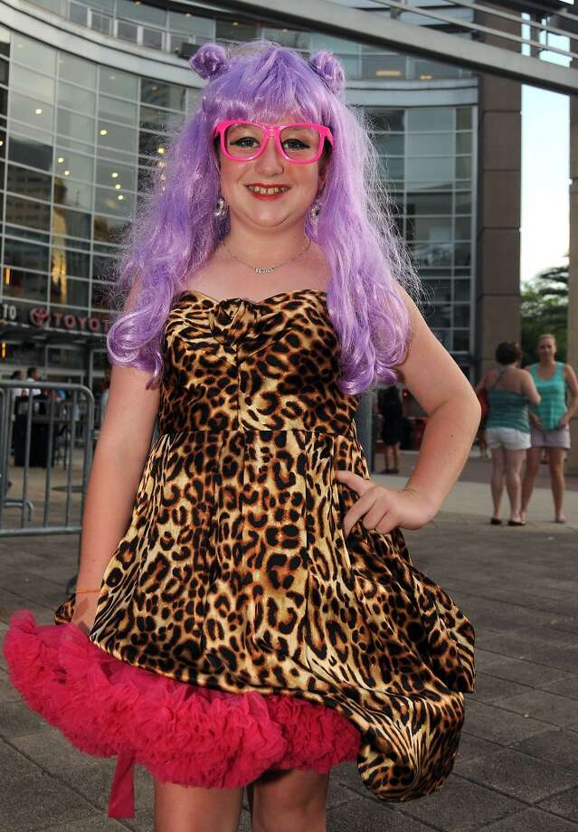 Fans outside Toyota Center for Lady Gaga's  artRAVE: The ARTPOP Ball Tour on Wednesday. Photo: Dave Rossman, For The Houston Chronicle