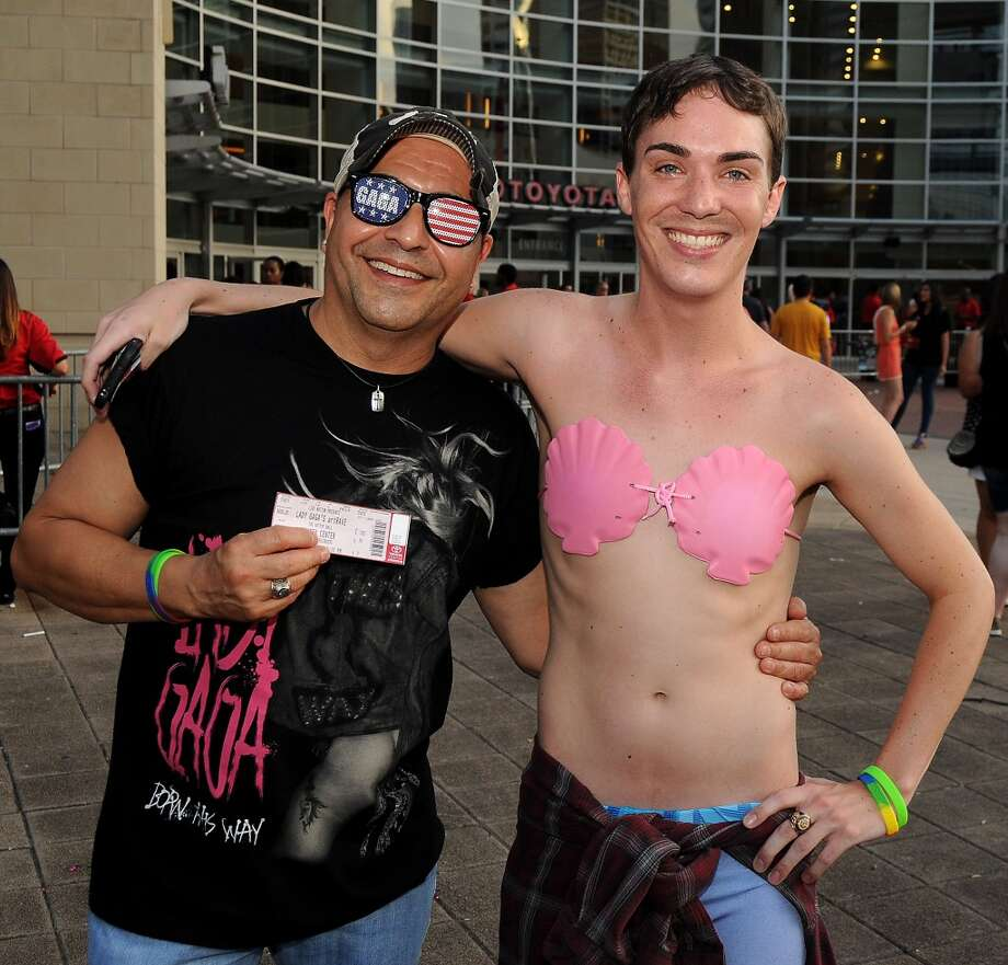Fans outside Toyota Center for Lady Gaga's  artRAVE: The ARTPOP Ball Tour Photo: Dave Rossman, For The Houston Chronicle