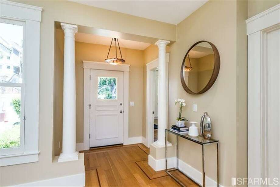 The entryway into the home. Photo: MLS