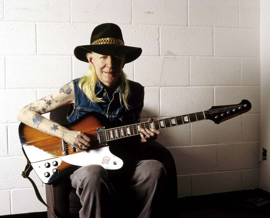 Johnny Winter. Photo: Redferns