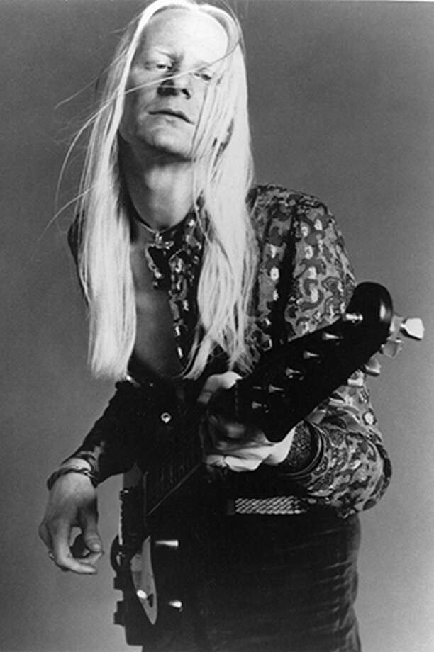 Johnny Winter, 1944-2014:Texas blues legend Johnny Winter, known for his lightning-fast blues guitar riffs, his striking long white hair and his collaborations with the likes of Jimi Hendrix and childhood hero Muddy Waters, died July 16. He was 70. / REDFERNS MUSIC PICTURE LIBRARY LTD