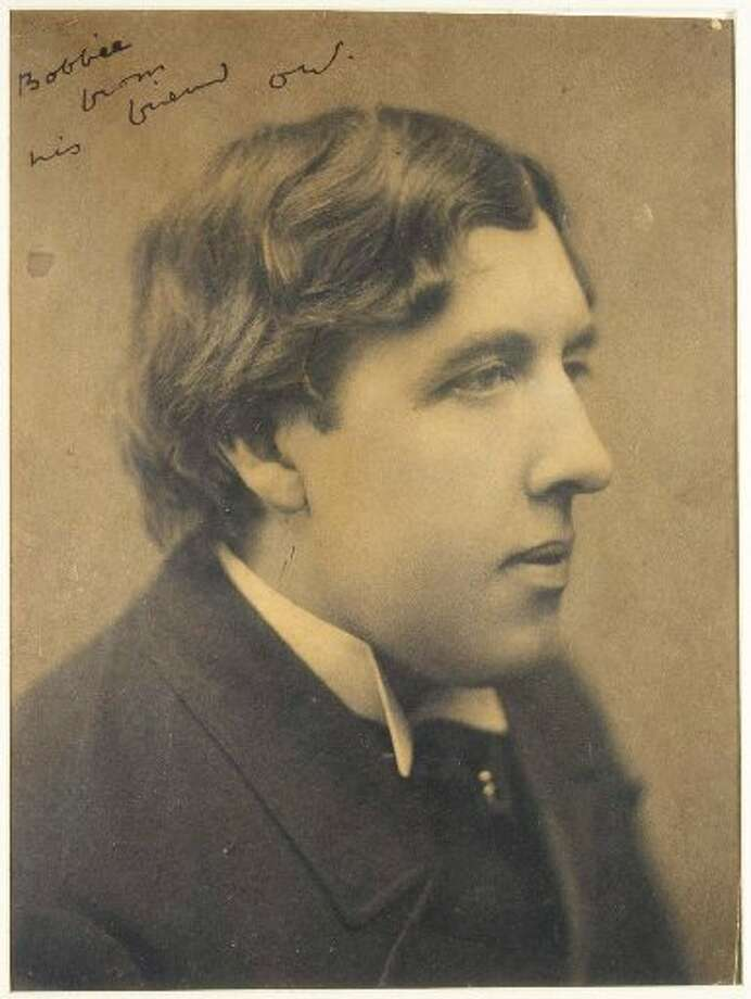 "Famous for his snarky one-liners and lifestyle -- a gay man, Wilde stood trial for obscenity and libel  and spent time in jail --  Wilde wrote plays that are still favorites today, particularly ""The Importance of Being Earnest."" (AP)"