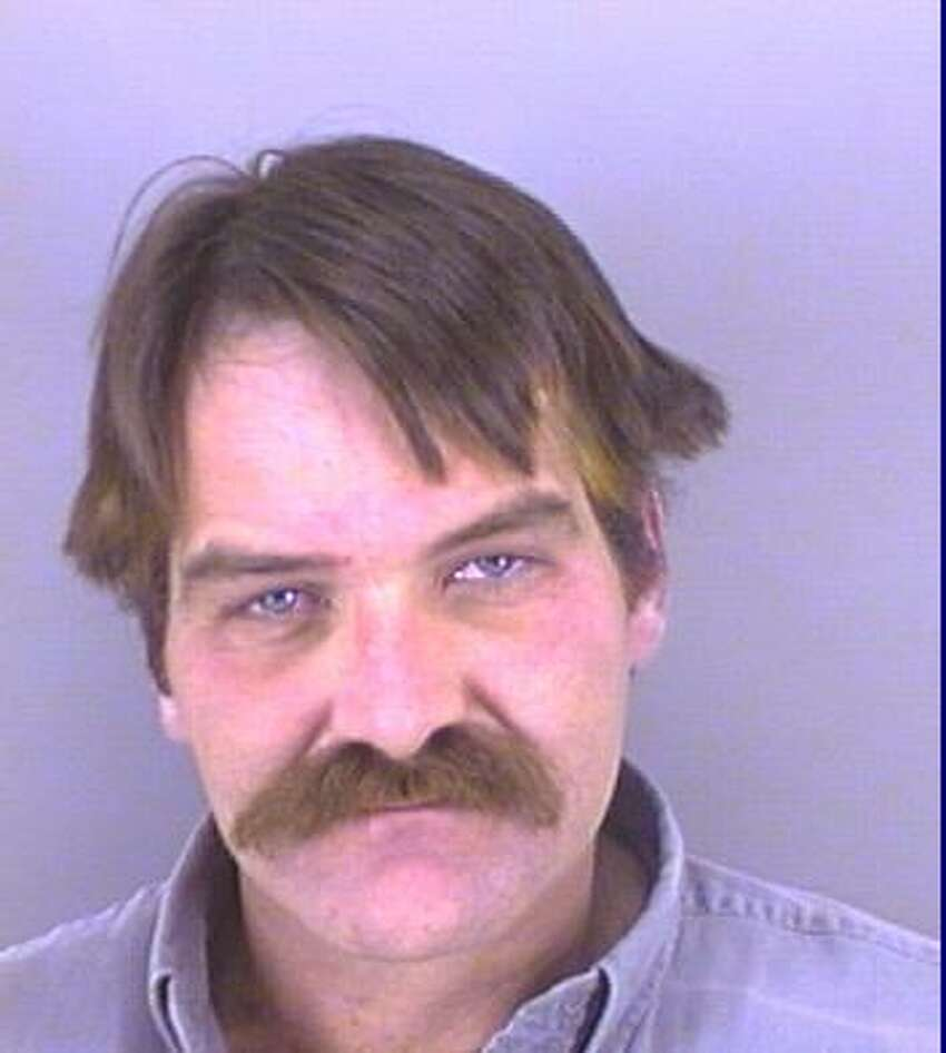 Terry Stevens' mugshot from his fifth DWI arrest in 2004.