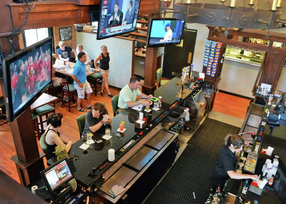 Harvey's Irish Restaurant & Bar, 14 Phila St., Saratoga Springs, NY, 518-583-0003. Visit Web site. Read our review. Photo: John Carl D'Annibale / 00027692A