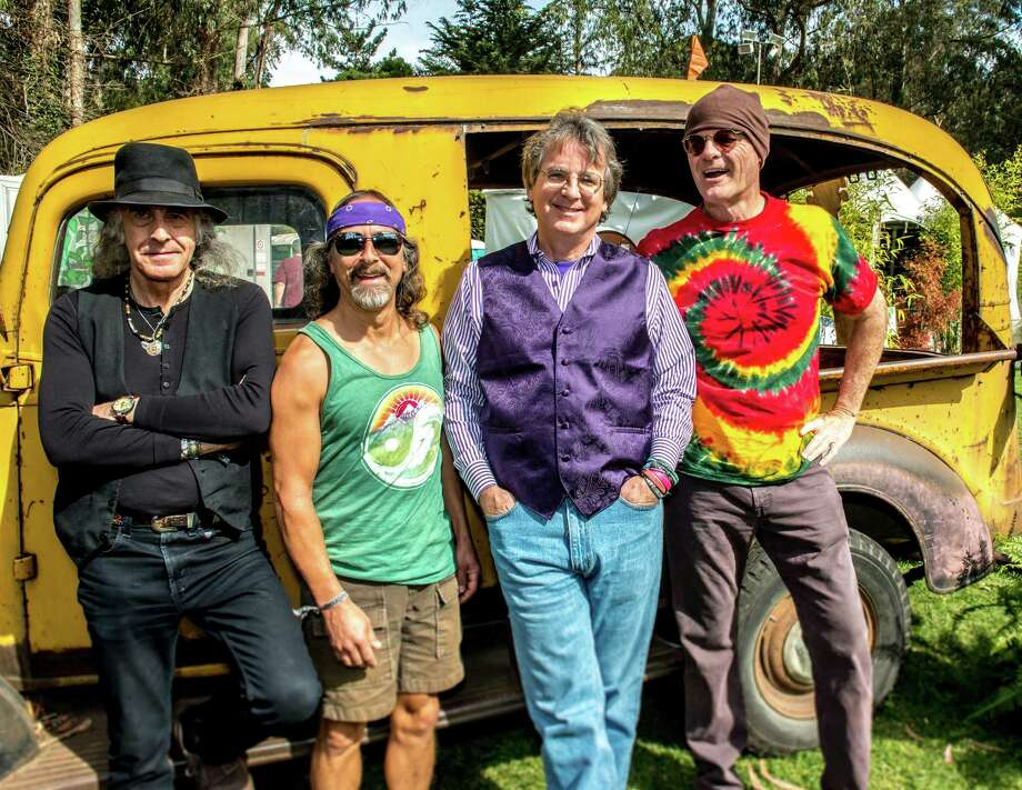Moonalice at the Hardly Strictly Bluegrass Festival in San Francisco, Calif., in 2013. The band is in the midst of a Northeast tour, which will bring it to the Fairfield Theatre Company in Fairfield, Conn., on Tuesday, July 29, 2014. Band members include, from left, Pete Sears, Barry Sless, Roger McNamee and John Molo. Photo: Contributed Photo / Stamford Advocate Contributed photo