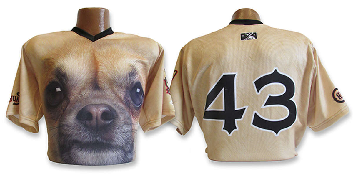 The Triple-A baseball affiliate of the San Diego Padres, The El Paso Chihuahuas, are getting national attention after releasing their jersey featuring the dog, which they'll wear in the Aug. 3 game against the Reno Aces.