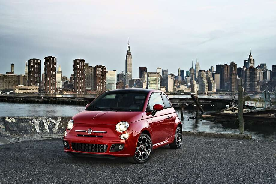 The Fiat 500 is made by the Italian company, which denies it is in talks with Volkswagen about a merger. Photo: Uncredited, Associated Press