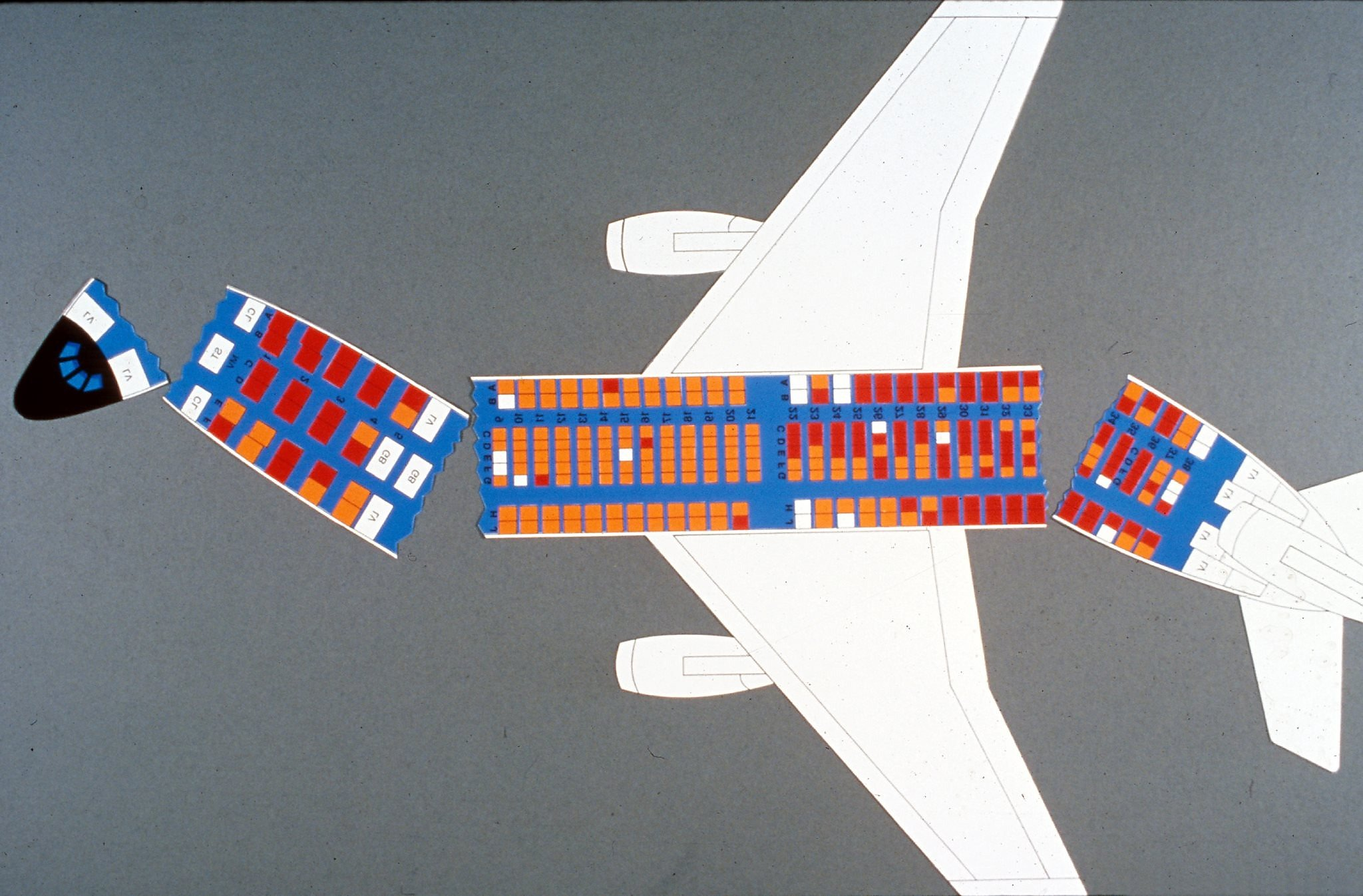Flight 232 By Laurence Gonzales Sfgate Diagram Of An Airplane