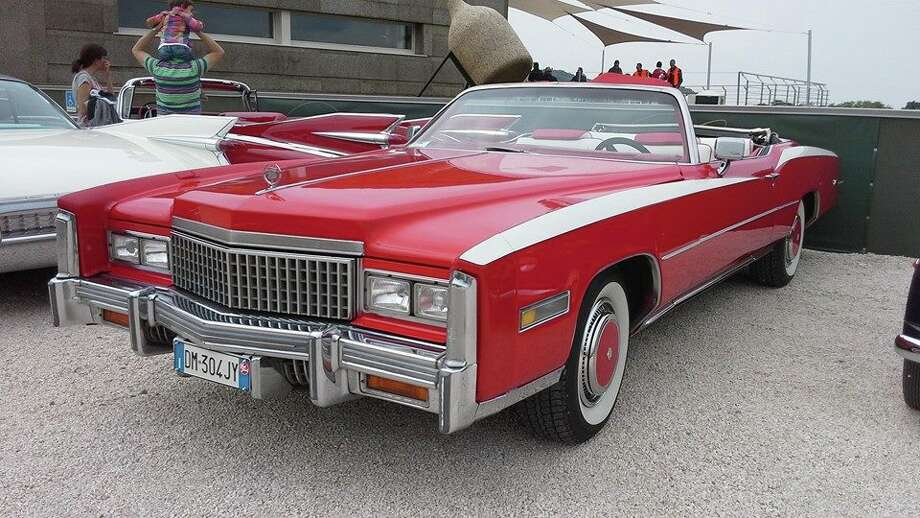 The All-American love affair with the big, beautiful beasts of classic rides has gone overseas to Brescia, Italy, with the founding of the Federal Brescia US car club. One of the club's classics is this 1974 Cadillac Eldorado.