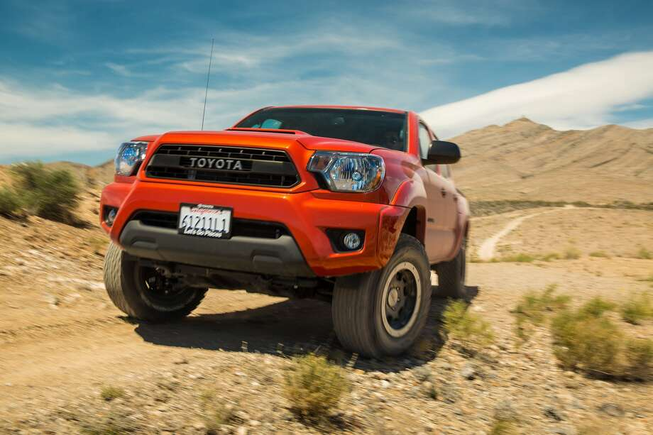 Toyota Tacoma's TRD Off-Road Package is engineered to balance off-road performance and on-road handling and is available for 4x4 V-6 automatic models. / 2012 David Dewhurst Photography