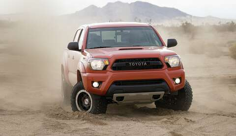 Toyota Tacoma gets TRD package for 2015 - Houston Chronicle