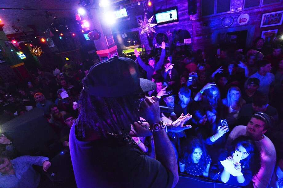 Houston rapper Lil Flip performing at Tequila Rok, which closed in spring 2014. cat5 file photo