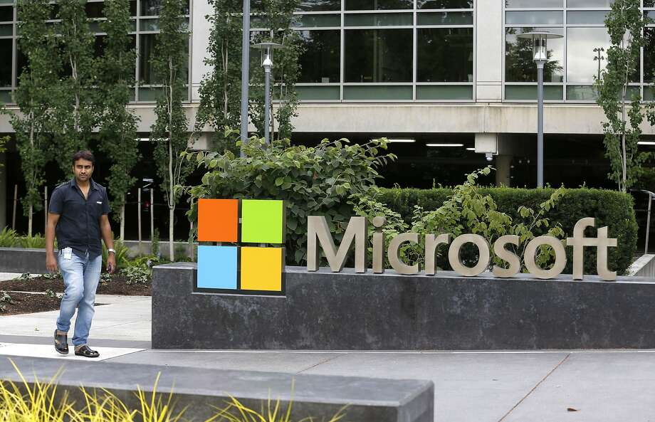 Microsoft announced it will lay off up to 18,000 workers over the next year. Here's a look at some of the largest, recent layoffs in other companies, according to Business Insider. Photo: Ted S. Warren, Associated Press