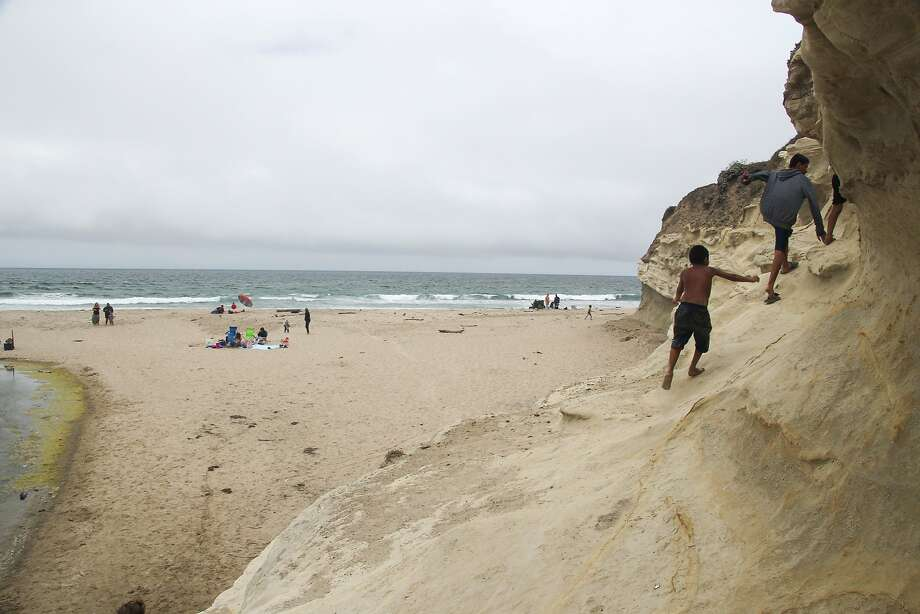 San Gregorio Beach is seen on Saturday, July 12, 2014 in San Gregorio, Calif. Photo: Dana Edwards, Special To The Chronicle