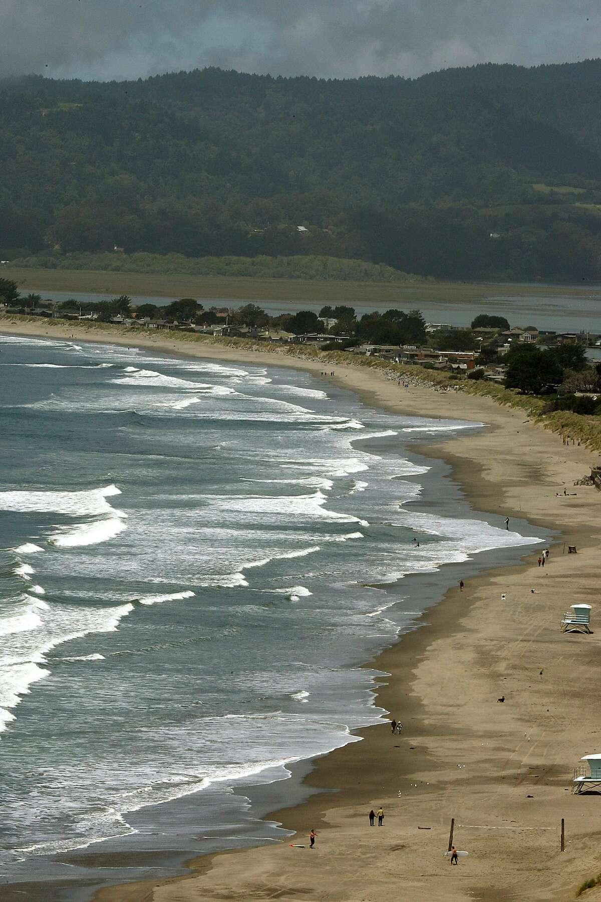 Stinson Beach in Marin County, Calif.