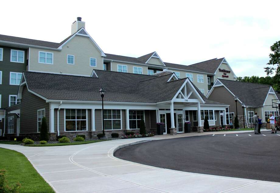 Exterior of the Marriott Residence Inn which held a grand opening on Thursday evening, July 17, 2014 in Clifton Park N.Y. (Selby Smith/Special to the Times Union) Photo: Selby Smith / 00027782A