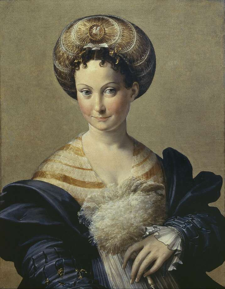 """Portrait of a Young Woman, called """"Schiava Turca,"""" ca. 1532. Photo: Ministry Of National Heritage, C"""