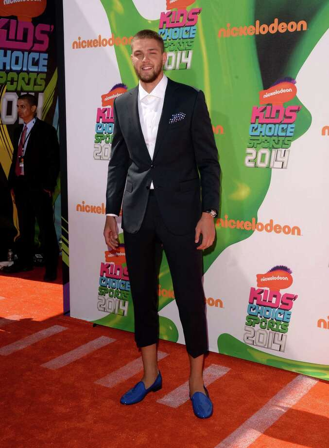NBA player Chandler Parsons attends Nickelodeon Kids' Choice Sports Awards 2014 at UCLA's Pauley Pavilion on July 17, 2014 in Los Angeles, California. Photo: Jason Merritt, Getty Images / 2014 Getty Images