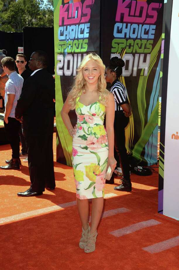 Actress Audrey Whitby attends Nickelodeon Kids' Choice Sports Awards 2014 at UCLA's Pauley Pavilion on July 17, 2014 in Los Angeles, California. Photo: Jason Merritt, Getty Images / 2014 Getty Images