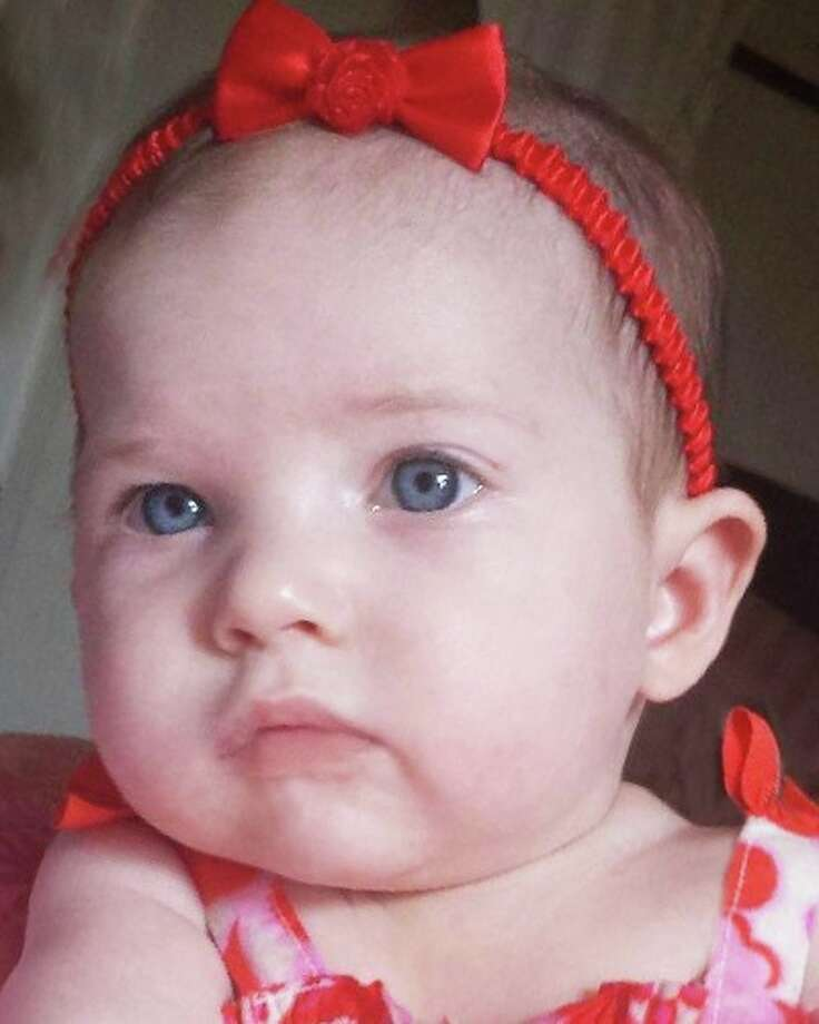 Olivia Smith, 5 months old, vanished from her Oklahoma grandparents' home on Thursday afternoon. Photo: Amber Alert