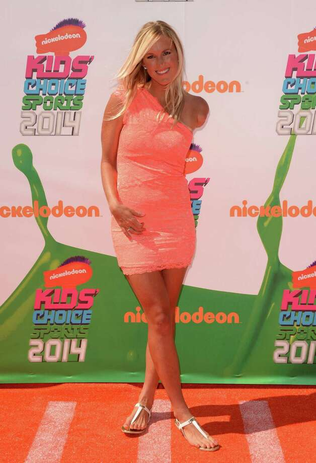 Surfer Bethany Hamilton attends Nickelodeon Kids' Choice Sports Awards 2014 at UCLA's Pauley Pavilion on July 17, 2014 in Los Angeles, California. Photo: Jason Merritt, Getty Images / 2014 Getty Images