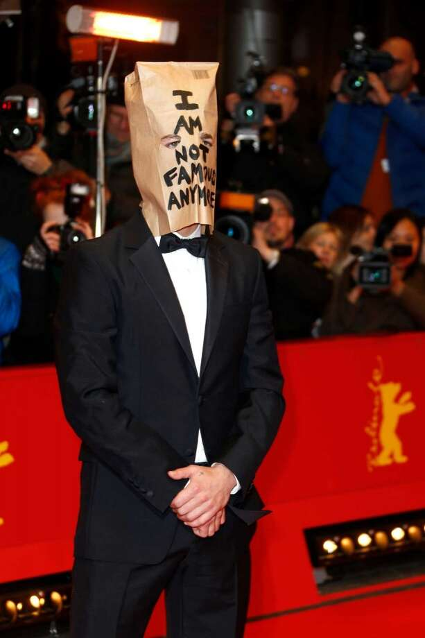 Shia LaBeouf has, seemingly, lost his ability to celebrity.   Photo: Actor Shia LaBeouf poses for photographers on the red carpet for the film Nymphomaniac at the International Film Festival Berlinale in Berlin, Sunday, Feb. 9, 2014. Photo: Joel Ryan, Invision