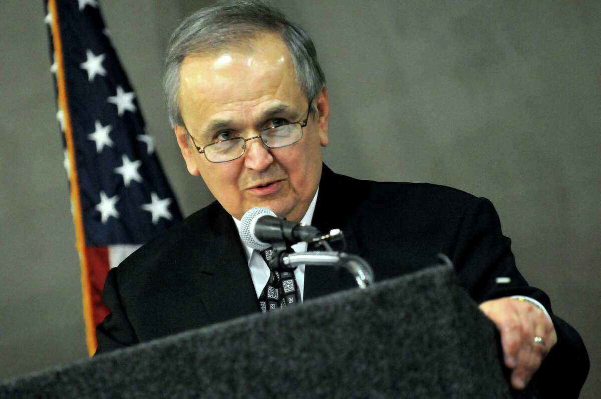 Senate Energy Committee Chairman George Maziarz announced Sunday that he would not seek re-election. He said the decision is not related to a U.S. Attorney's probe of his campaign finances. (Cindy Schultz / Times Union)