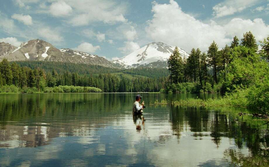 Mount Lassen, surrounded by a National Park, would be a Jefferson landmark. Photo: Bob Galbraith, AP