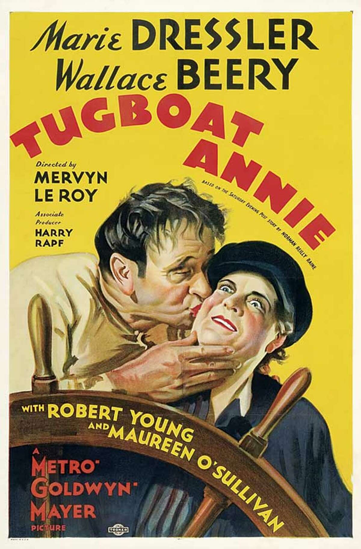 """""""Tugboat Annie"""" - Starring Marie Dressler and Wallace Berry, this 1933 film drew from stories based on the life of tugboat tycoon Thea Foss."""