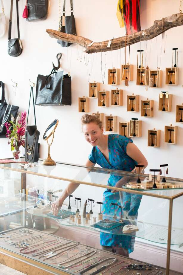 "Good Stock: ""Good Stock shops covetable beauty products and exquisite accessories, ranging from jewelry to handbags and totes.  Always expect to find the next big thing in beauty here, long before it hits the mainstream."" (4198 Piedmont Ave., 510-653-8518) Photo: Kristen Loken"