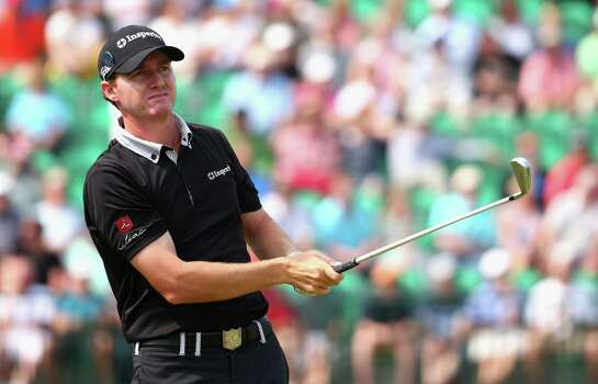 HOYLAKE, ENGLAND - JULY 18:  Jimmy Walker of the United States hits his tee shot on the fourth hole during the second round of The 143rd Open Championship at Royal Liverpool on July 18, 2014 in Hoylake, England. Photo: Matthew Lewis, Getty Images / 2014 Getty Images