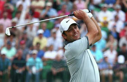 HOYLAKE, ENGLAND - JULY 18: Francesco Molinari of Italy hits his tee shot on the fourth hole during the second round of The 143rd Open Championship at Royal Liverpool on July 18, 2014 in Hoylake, England. Photo: Matthew Lewis, Getty Images / 2014 Getty Images