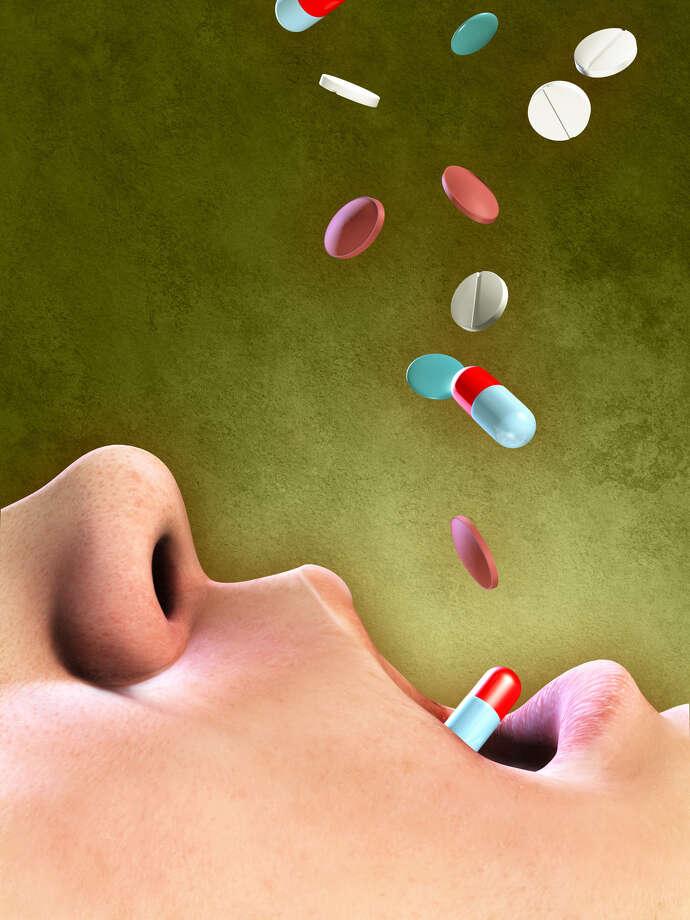 Self medication Fotolia Photo: Andrea Danti, Illustrator / Graphic Designer / Andrea Danti - Fotolia