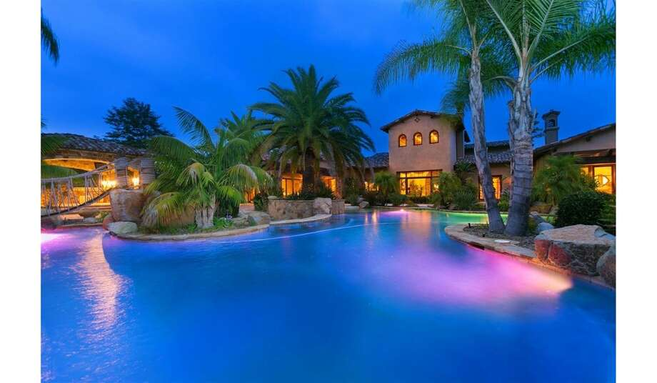 The impressive home of former NFL running back LaDainian Tomlinson. Photo: MLS