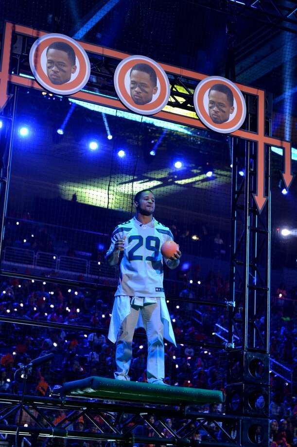 Earl Thomas  onstage during Nickelodeon Kids' Choice Sports Awards 2014 at UCLA's Pauley Pavilion on July 17, 2014, in Los Angeles. Photo: Kevin Winter, Getty Images