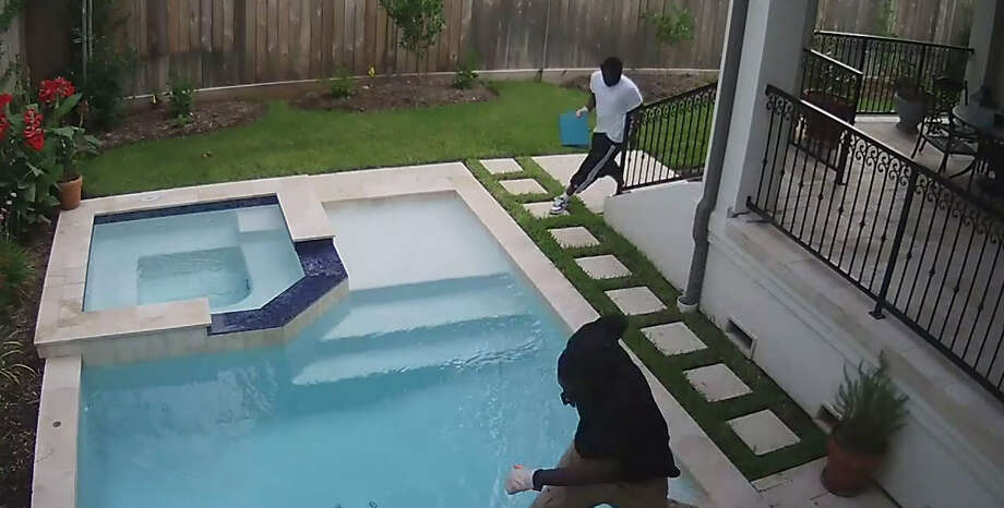 STRING OF ROBBERIES IN BELLAIRE:Investigators are looking for two men and a driver who they say broke in a robbed this home in Bellaire. The area has seen a strong of recent robberies.SEE THE VIDEO:Recent Bellaire burglaries, robberies keep police department busy Photo: Harris County Sheriff's Office