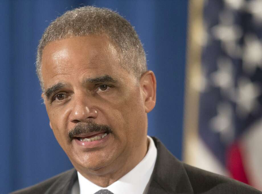 "Attorney General Eric Holder praised the move, calling it a ""milestone"" in the effort to ease overcrowding in prisons. Photo: Pablo Martinez Monsivais, Associated Press"