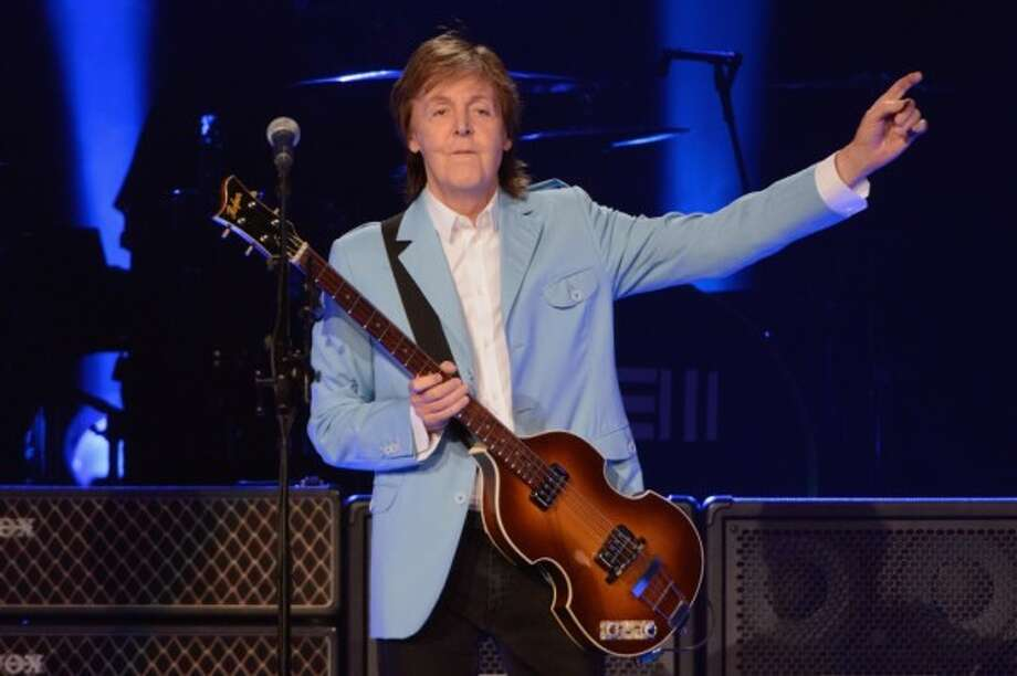 Paul McCartney. You know who he is, and the bands he played in. Little groups called The Beatles and Wings.