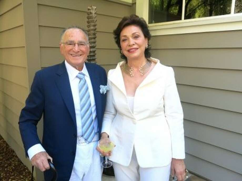 Major Sole supporters Jan Shrem and his wife, Maria Manetti Shrem, are the underwriters of the July 19 Bella Italia, a tribute to Sophia Loren. Photo: Catherine Bigelow