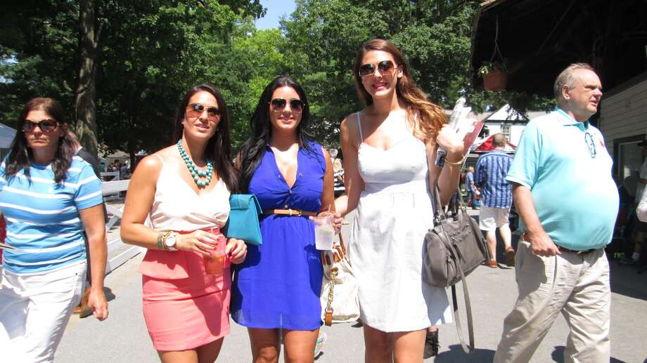 Were you Seen on Opening Day of the 151st season of thoroughbred racing at the Saratoga Race Course in Saratoga Springs on Friday, July 18, 2014? Photo: Lauren Lasky