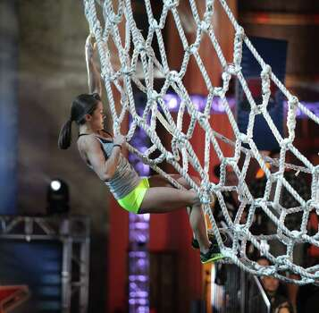 "AMERICAN  NINJA WARRIOR -- ""Dallas"" -- Pictured: Kacy Catanzaro -- (Photo by: Peter Larsen/Esquire Network/NBCU Photo Bank via Getty Images) Photo: NBCU Photo Bank Via Getty Images / 2014 NBCUniversal Media, LLC"