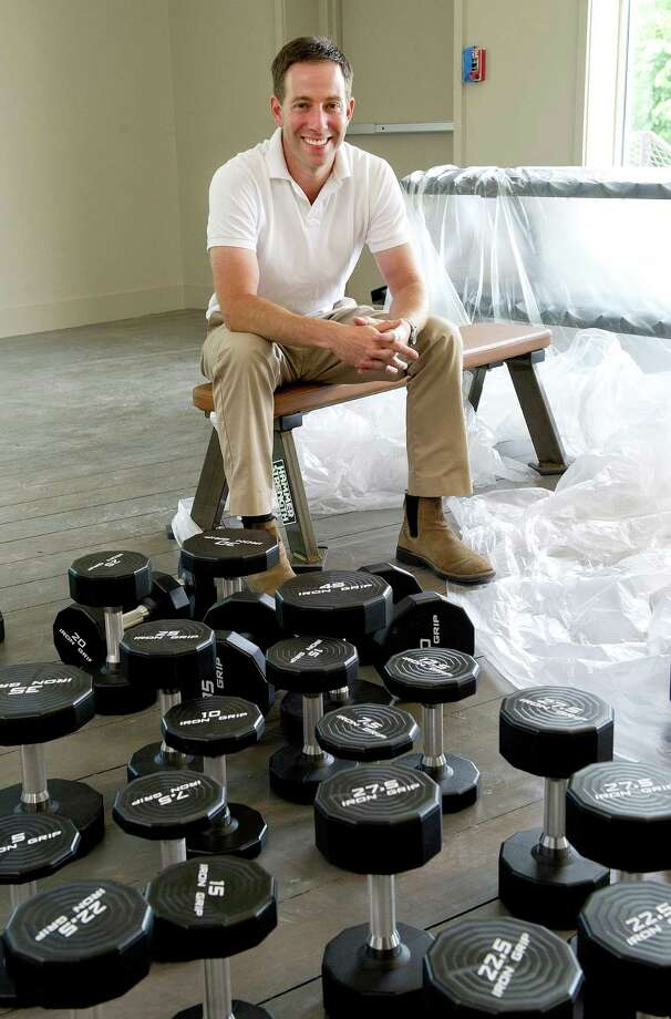 Owner Seth Hirschel poses for a photo at Clay Health Club + Spa in Port Chester, N.Y., on the Greenwich border on Friday, July 18, 2014. Photo: Lindsay Perry / Stamford Advocate