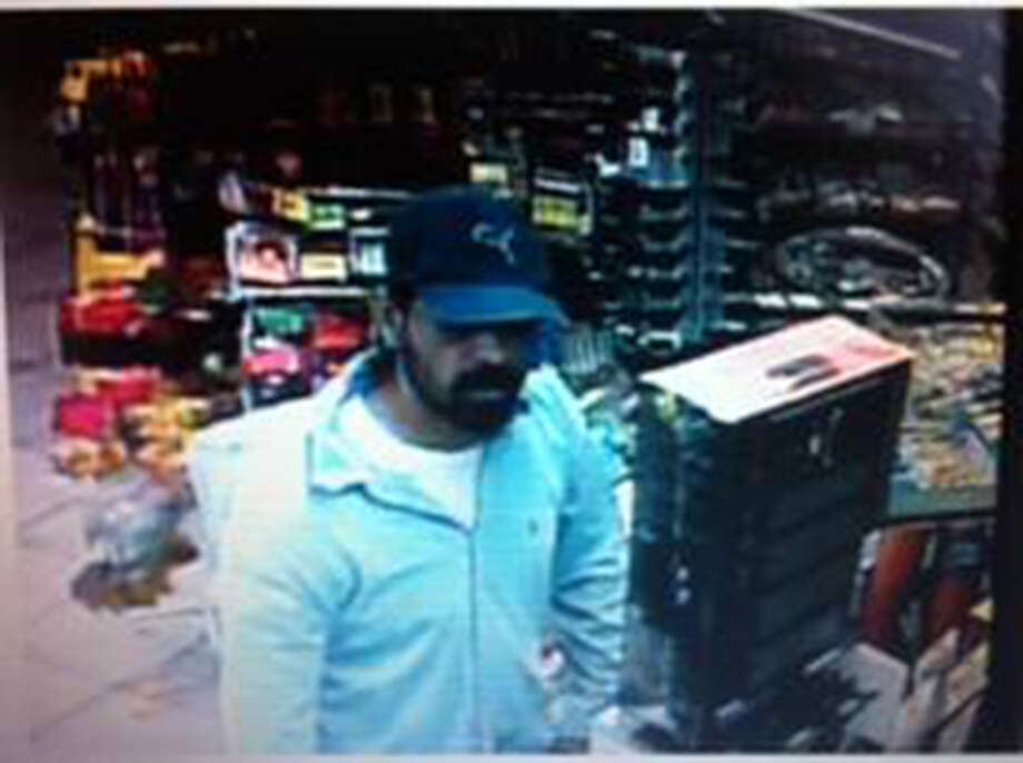 The San Antonio Police are searching for this man suspected of aggravated robbery of the Khost Food Mart at 1904 Bandera Road, and Fred's Fish Fry at 1406 Bandera Road. Photo: Courtesy San Antonio Police Department