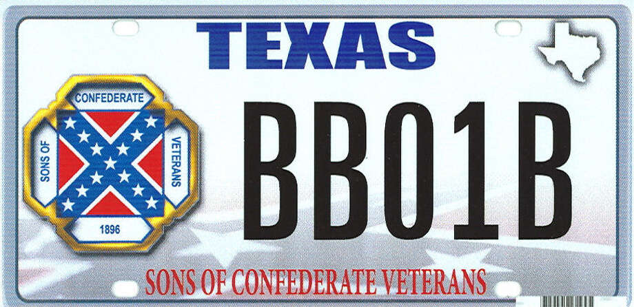 The proposed Sons of Confederate Veterans license plate is simply a fundraising effort by an organization that is proud of its history. But political correctness has clouded the issue. Photo: Texas Department Of Motor Vehicles / Associated Press / Texas Department of Motor Vehicl