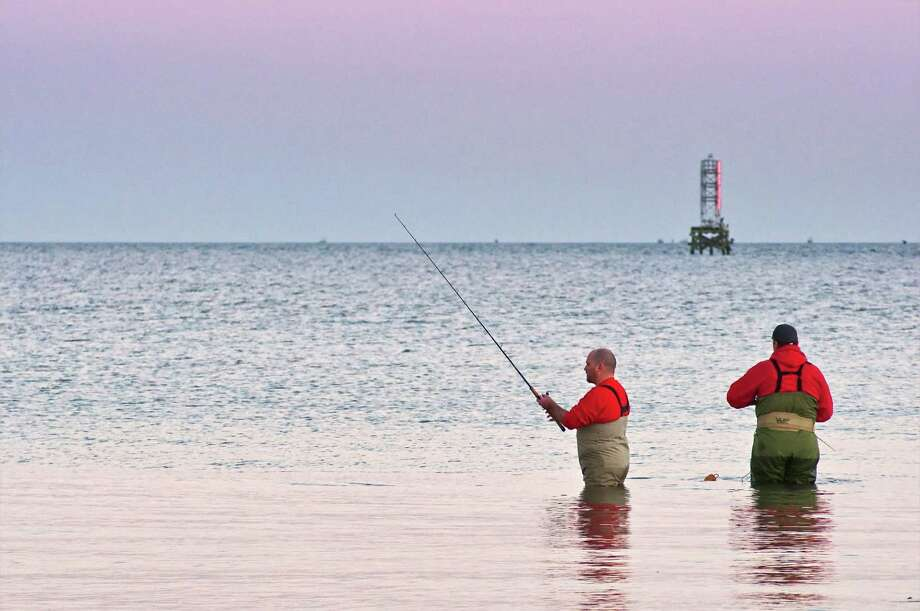 EAST GALVESTON BAY (saltwater): Trout and large Gulf trout are good for drifters working deep shell on plastics and fresh shrimp. Redfish and flounder are fair to good in the marsh around drains on shrimp. Photo: Witold Skrypczak, Getty Images / Lonely Planet Images