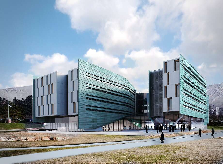 This rendering shows Lassonde Studios, being built on the campus of the University of Utah. Photo: University Of Utah