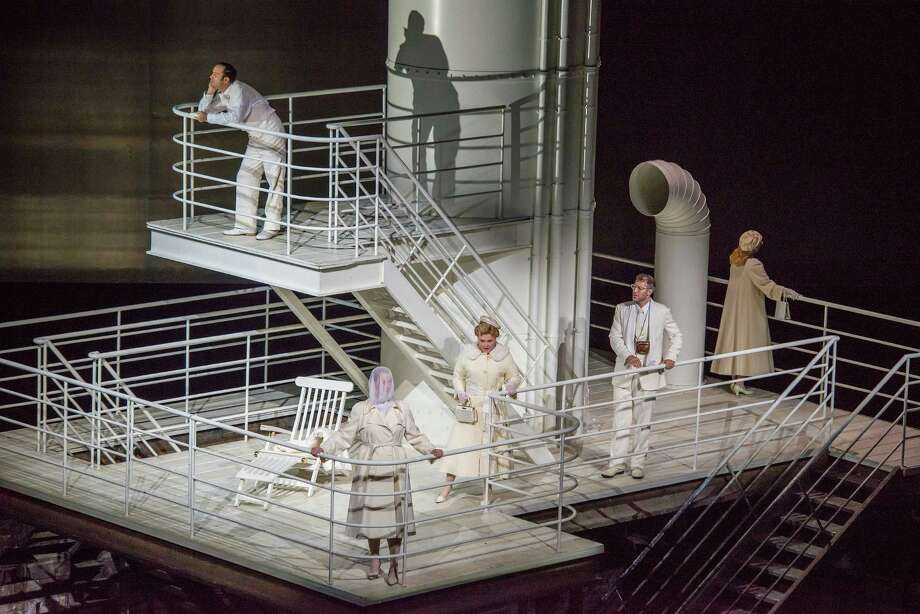 "Houston Grand Opera performs Mieczyslaw Weinberg's ""The Passenger"" during the Lincoln Center Festival in New York. Photo: Stephanie Berger / MANDATORY ADJACENT CREDIT:  STEPHANIE BERGER."