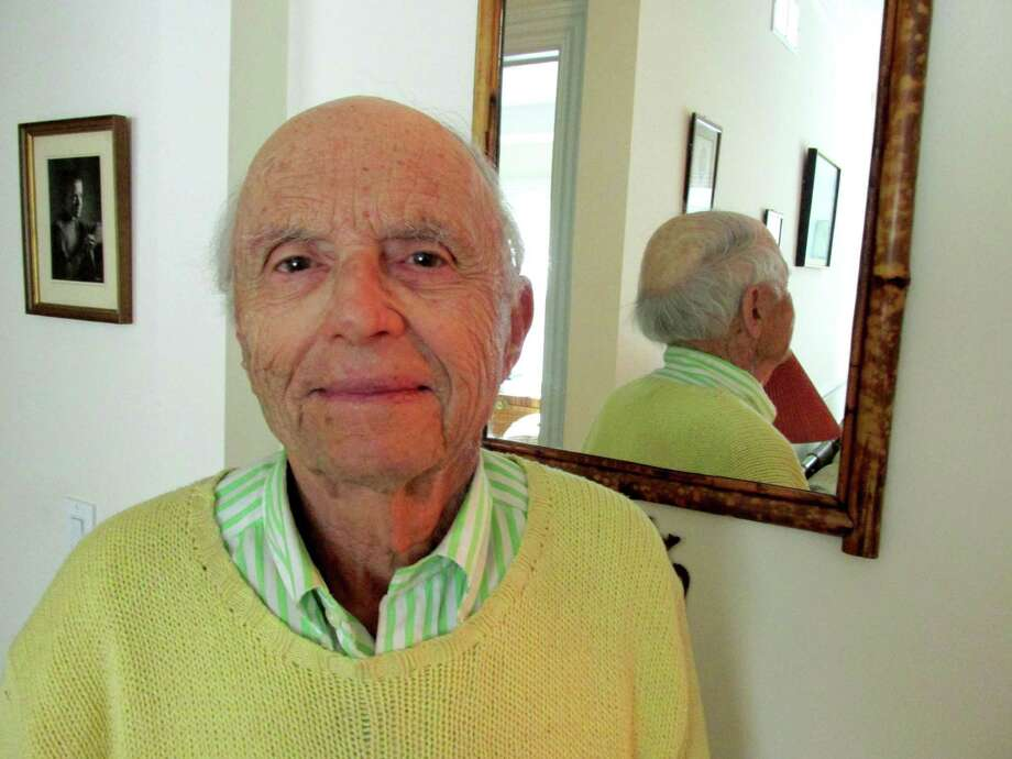 Bernard Dressner, 92, plays golf every Saturday and Sunday at the Griff. Photo: Anne Semmes / Greenwich Time