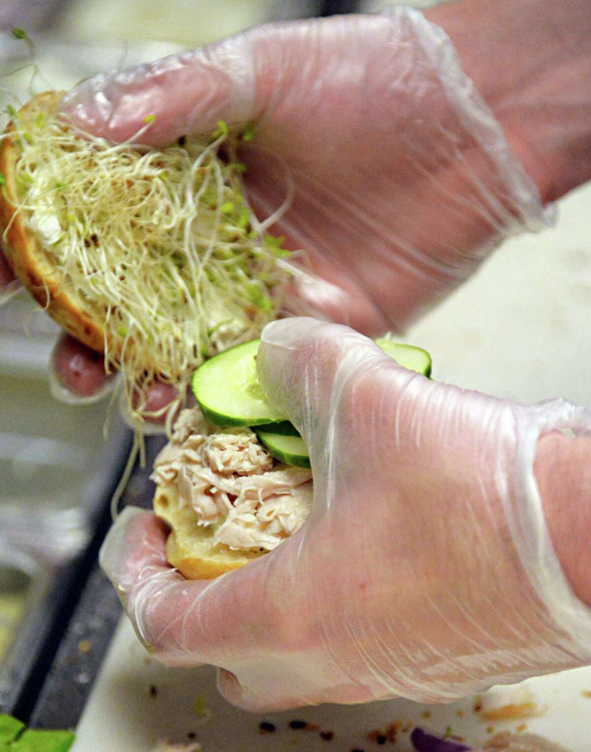 2. I worked in a sub shop in high school making $2.10 an hour. (John Carl D'Annibale / Times Union)
