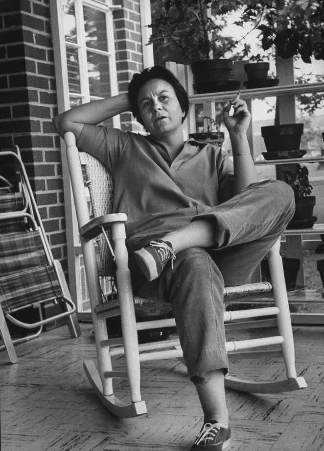Pictured here in 1961, the publicity-shy Harper Lee, known as Nelle to her friends, 10 years ago granted author Marja Mills rare extended access to her day-to-day life in Monroeville, Ala. Photo: Donald Uhrbrock, Contributor / Donald Uhrbrock